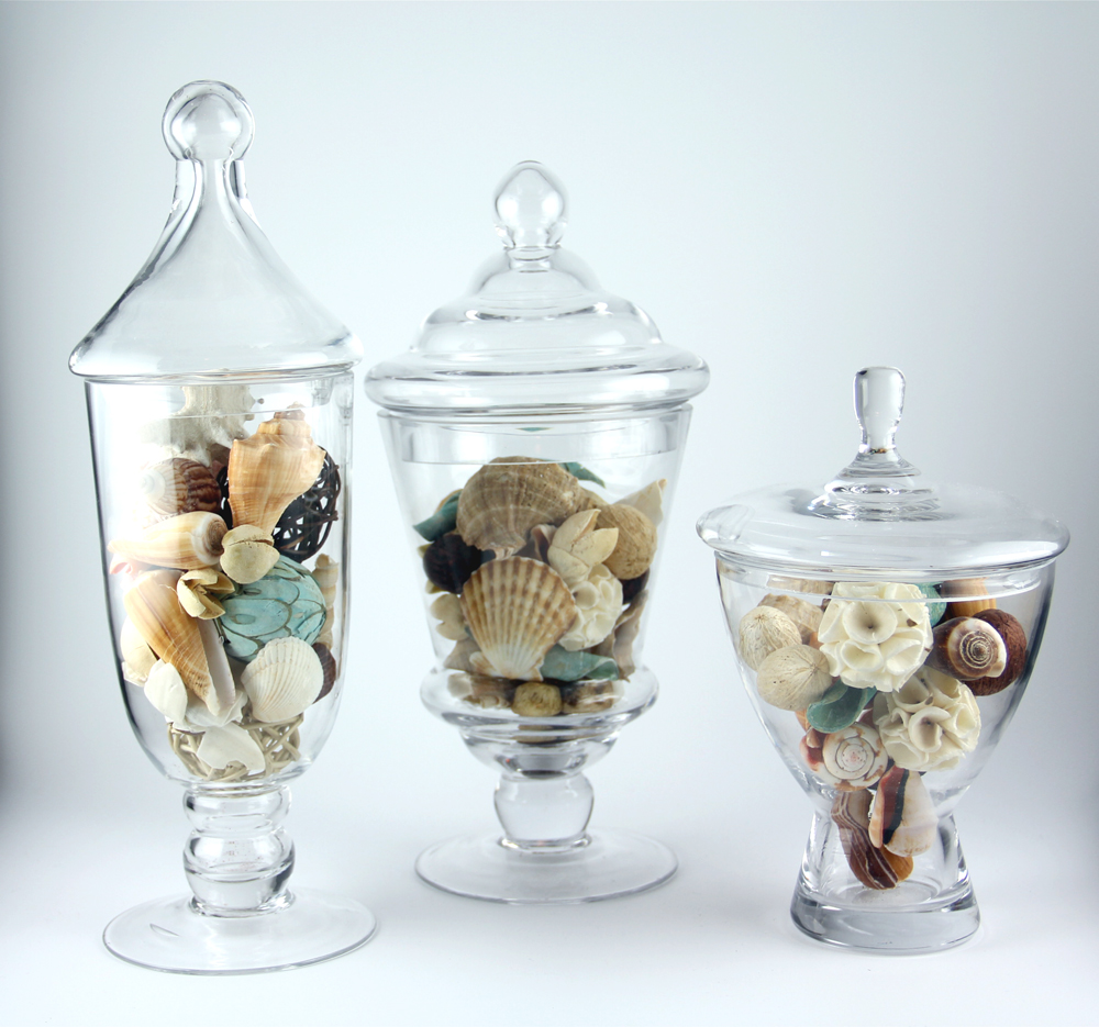 Timeless Settings Apothecary Jar 3 Piece Set Wedding Candy Buffet at Sears.com