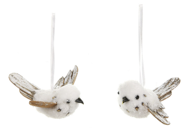 Creative CO-OP Christmas Holiday Bird Ornament Set at Sears.com