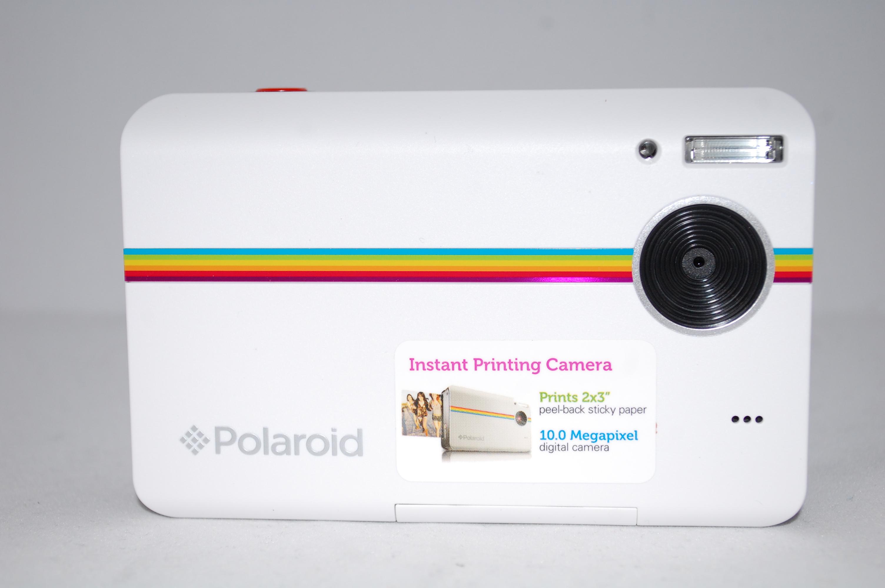 polaroid z2300 10mp digital instant print camera white ebay. Black Bedroom Furniture Sets. Home Design Ideas