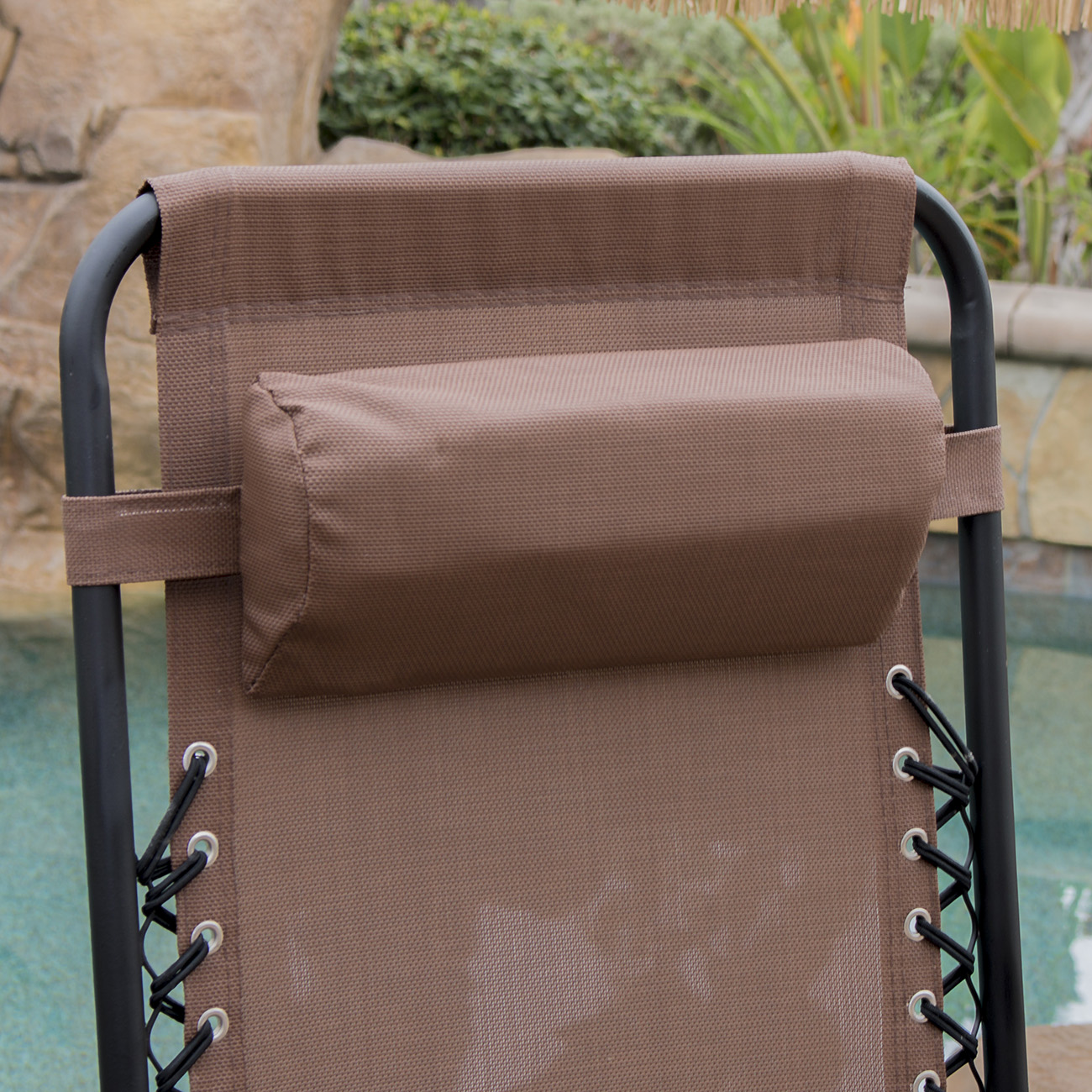 Folding patio lounge chairs - 2 Folding Zero Gravity Reclining Lounge Chairs Utility