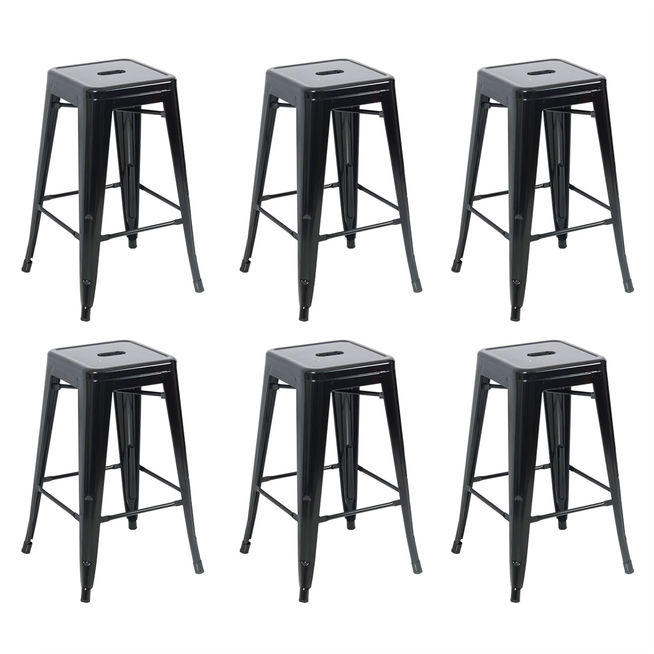 Antique Bar Stools ~ Metal bar stools set of vintage antique style counter