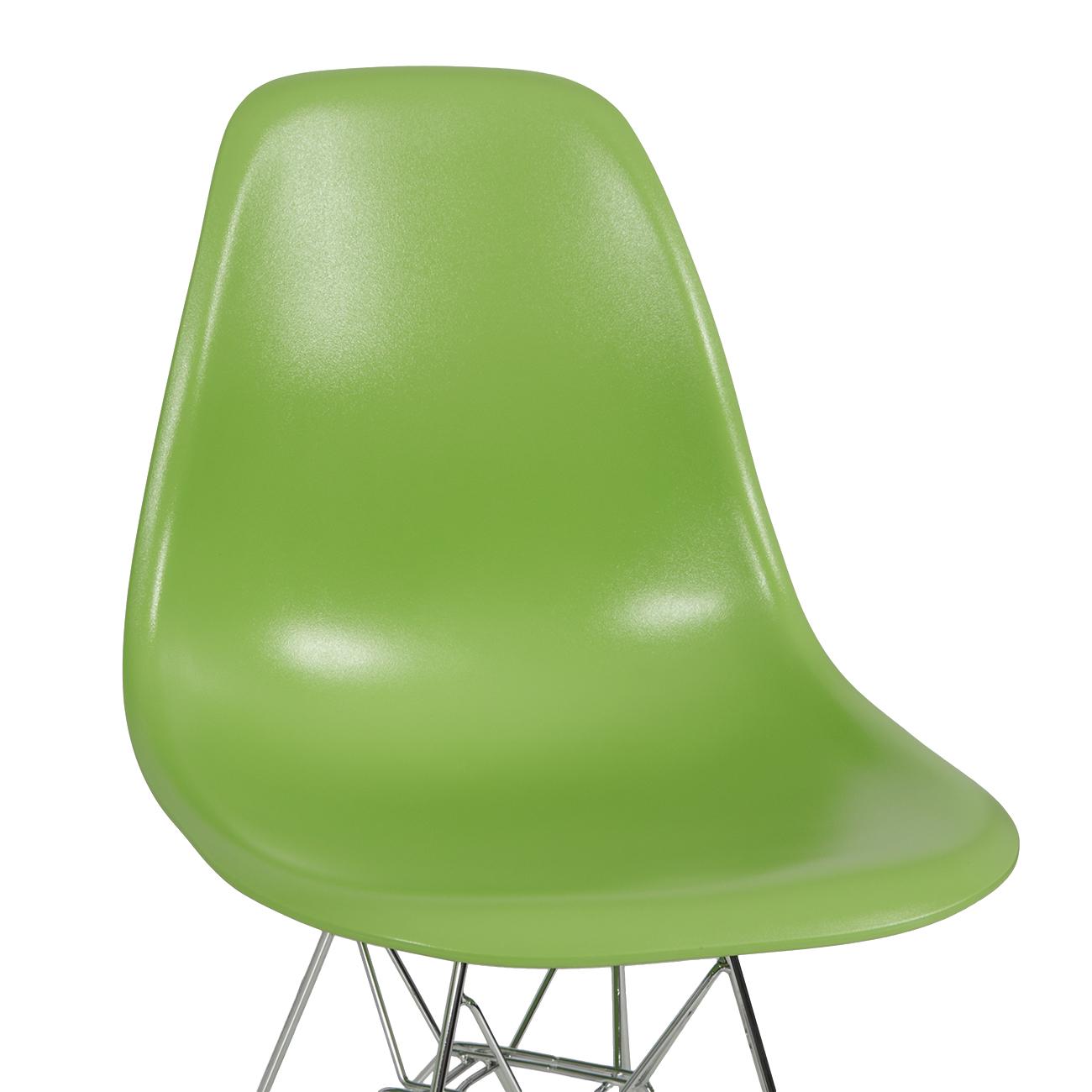 Modern plastic chairs - 2x Style Dsw Modern Eiffel Side Chair Molded