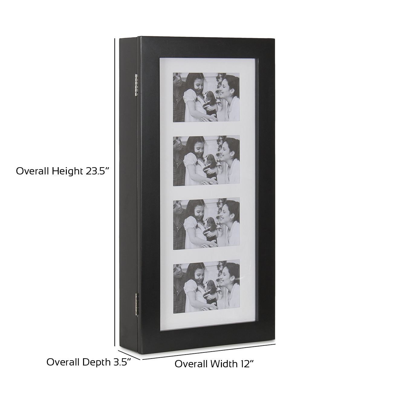 Jewelry Box Wall Mounted Cabinet Look Neat With Mirror