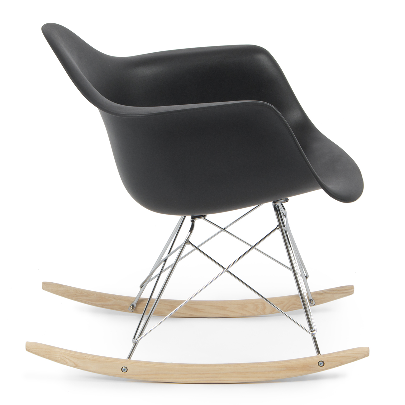 retro dsw eames style modern arm chair rar rocker rocking