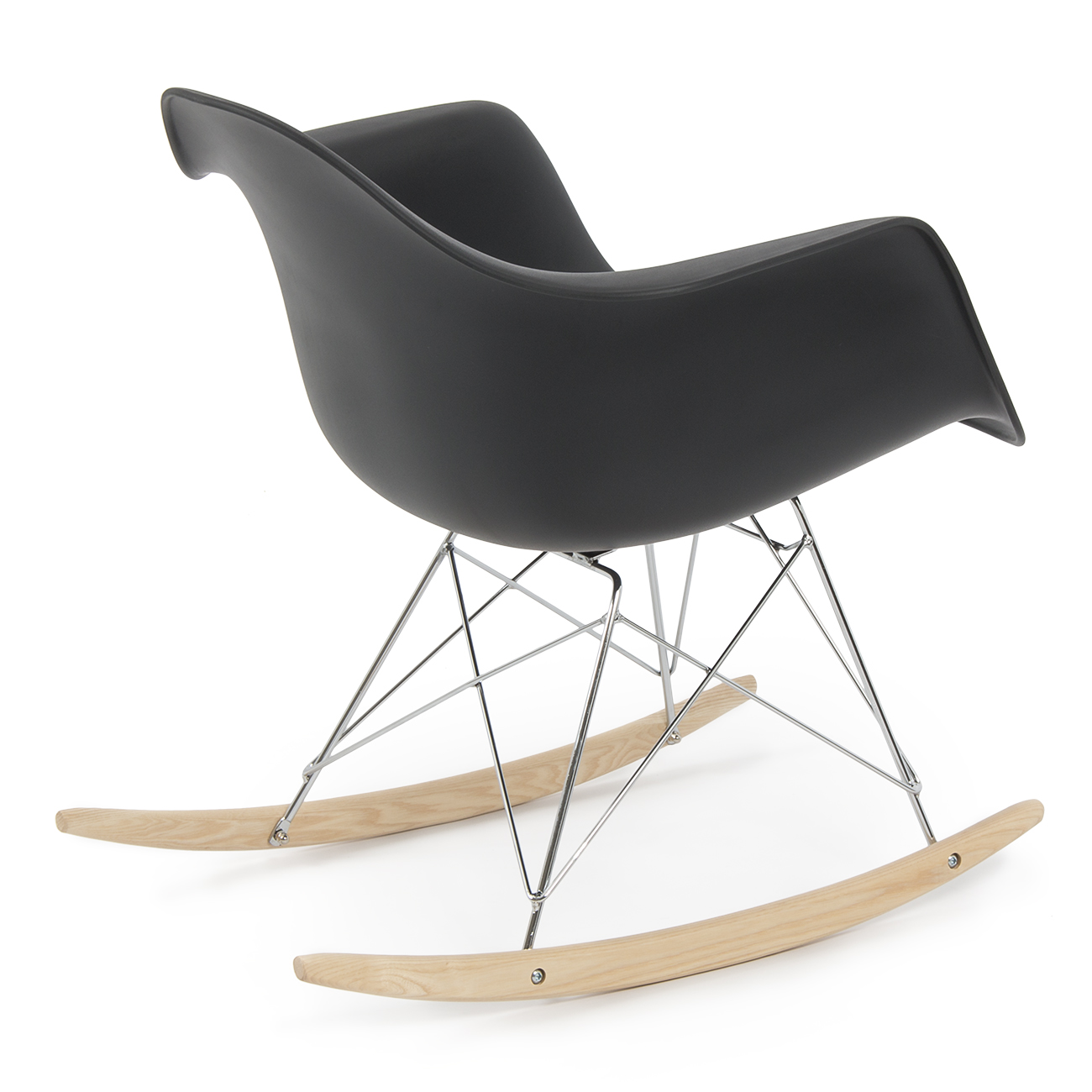 retro dsw eames style modern arm chair rar rocker rocking. Black Bedroom Furniture Sets. Home Design Ideas