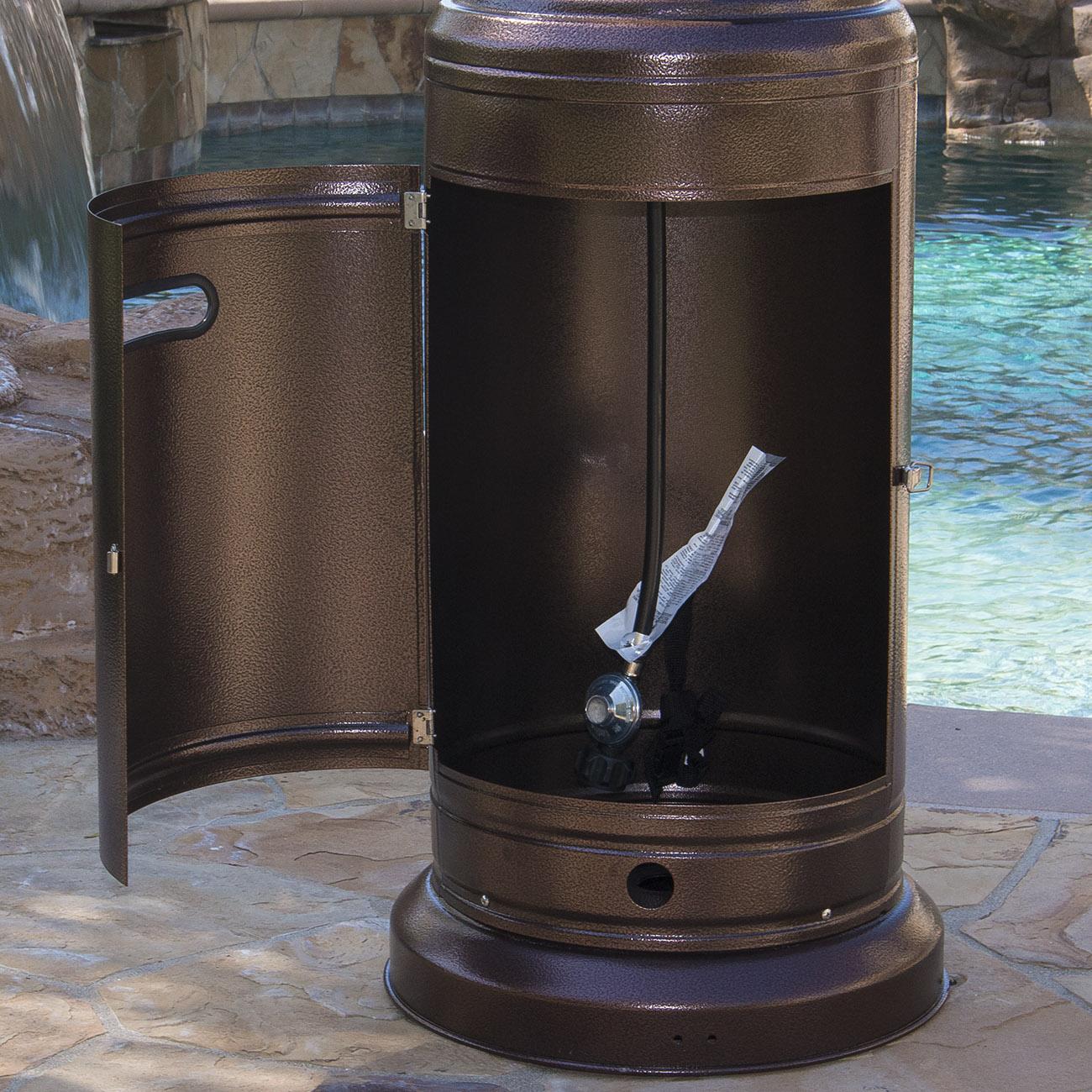 Outdoor Patio Heaters New Zealand: Garden Outdoor Patio Heater W/ Table Propane Standing Lpg