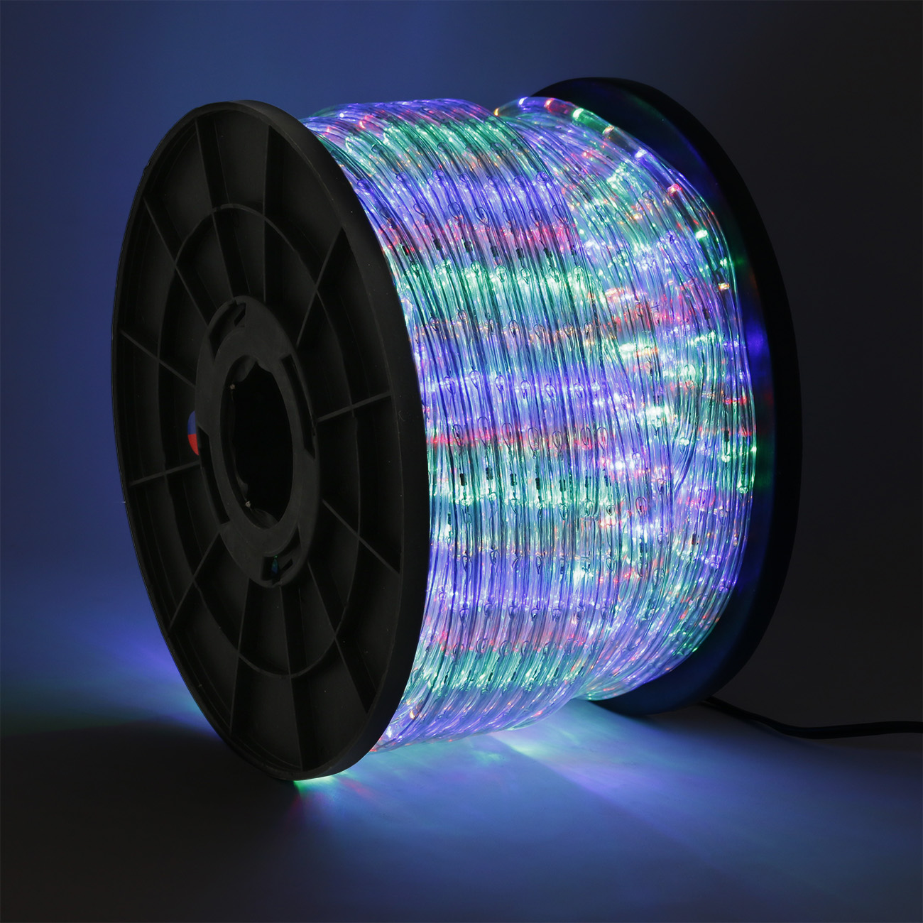50 100 150 300ft led rope light 110v home party christmas for Led lights for outdoor lighting