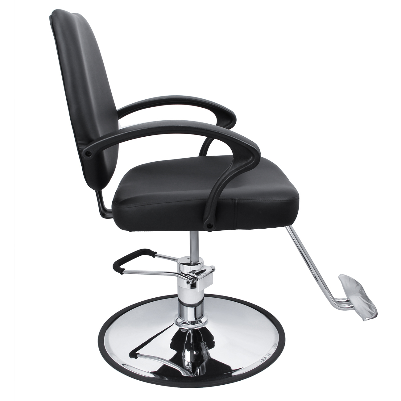 Classic hydraulic barber chair salon beauty spa hair for Hydraulic chairs beauty salon