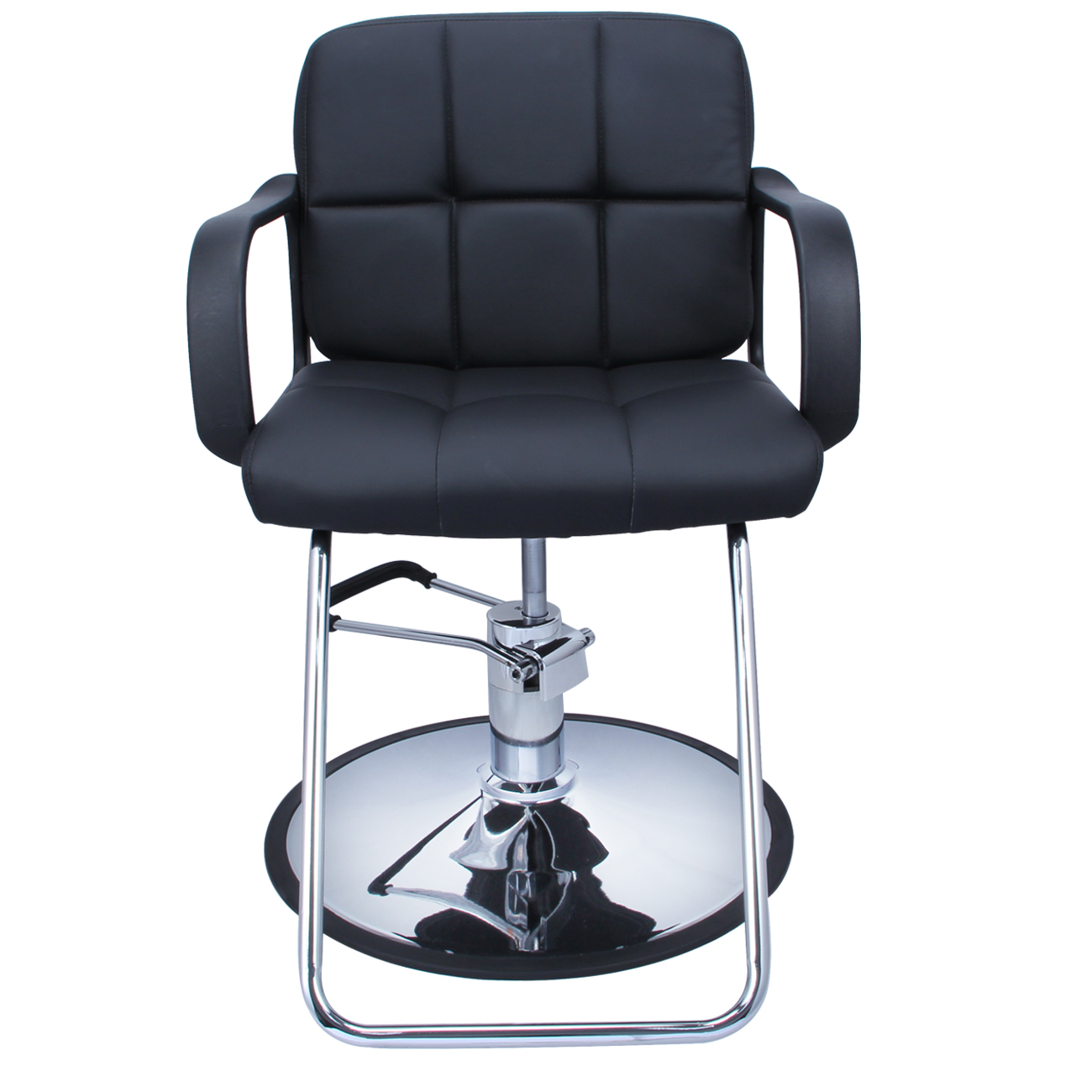 Professional Black Hydraulic Styling Barber Chair Hair