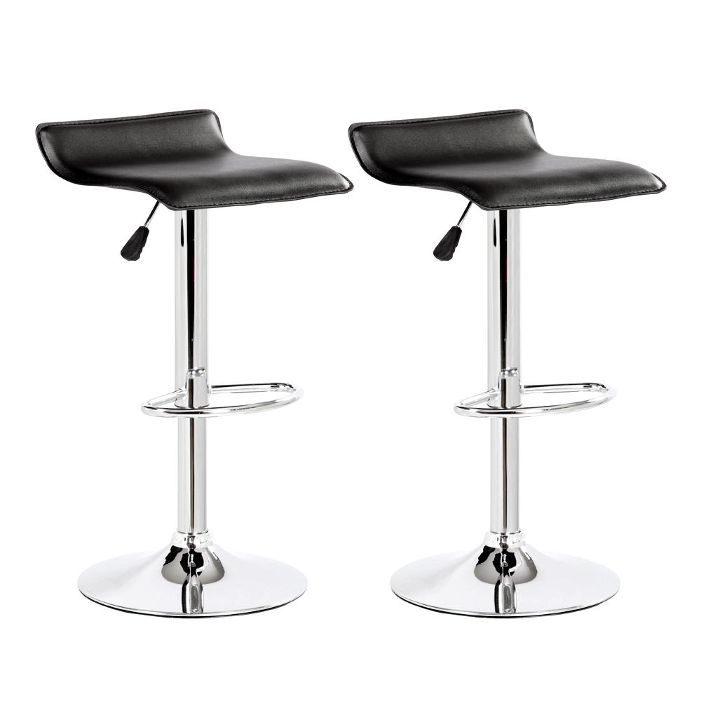 Modern bar stools pu leather adjustable swivel hydraulic