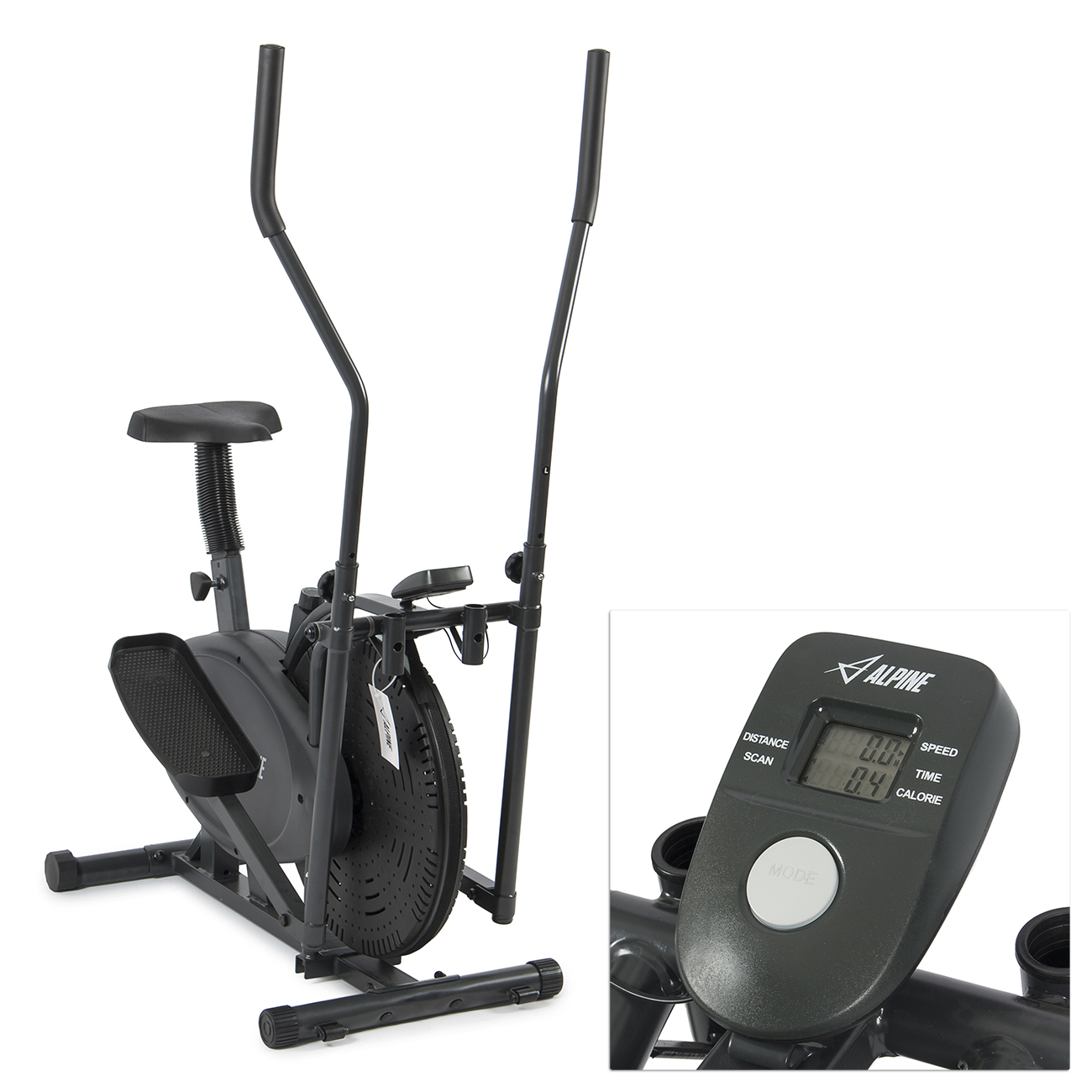 Elliptical Sit Down Bike: Akonza Elliptical Bike 2 In 1 Cross Trainer Exercise