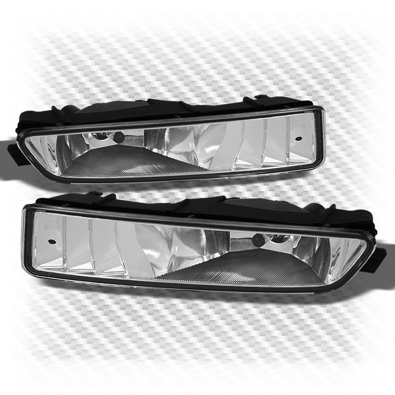 For 99-03 Acura TL Sport Clear Bumper Driving Fog Lights W