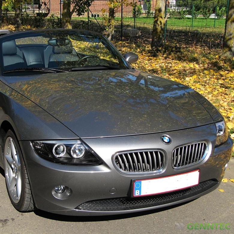 Bmw Z4 Xenon Headlights: For 2003-2008 BMW Z4 Twin Halo Projector Headlights Black