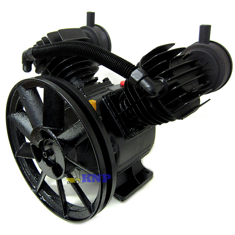 140psi 2 piston 3hp v type air compressor pump 11 pulley for Piston type air motor