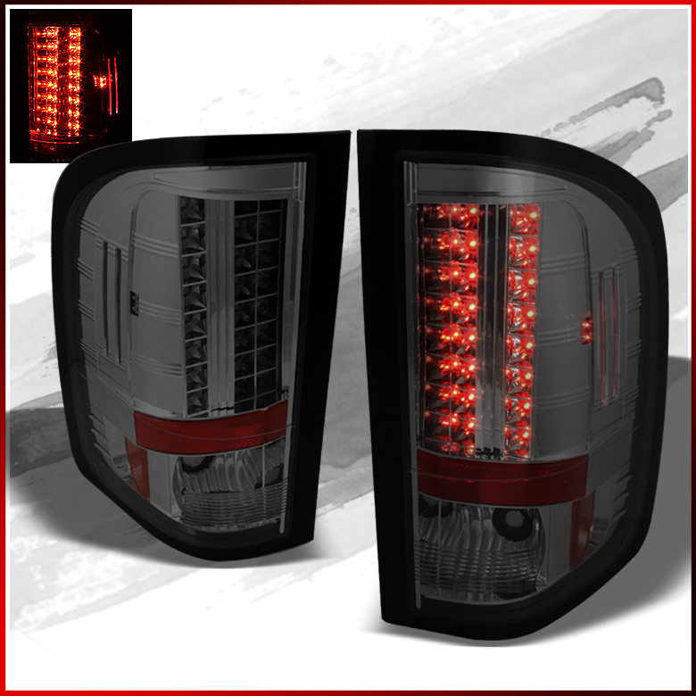 fits 09 10 silverado smoke philips led perform tail lights. Black Bedroom Furniture Sets. Home Design Ideas