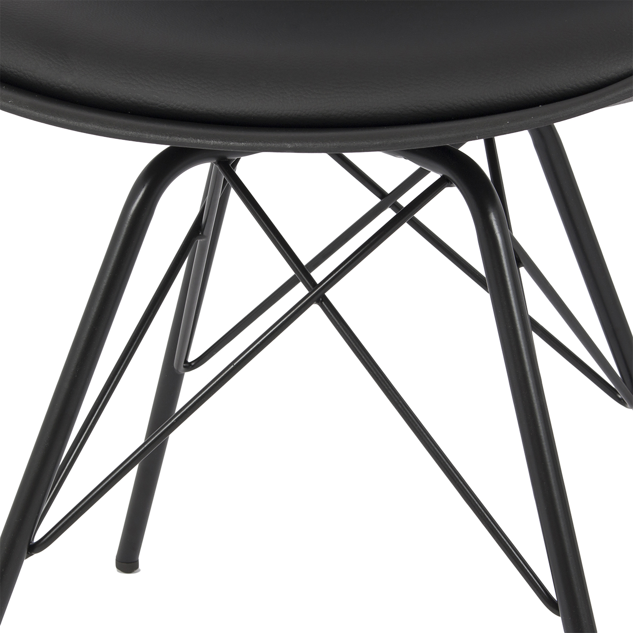 Premium Eiffel Dowel Leg DSW Style Dining Side Chair w  : 014 hg 14086 bk4 from www.ebay.com size 1300 x 1300 jpeg 556kB