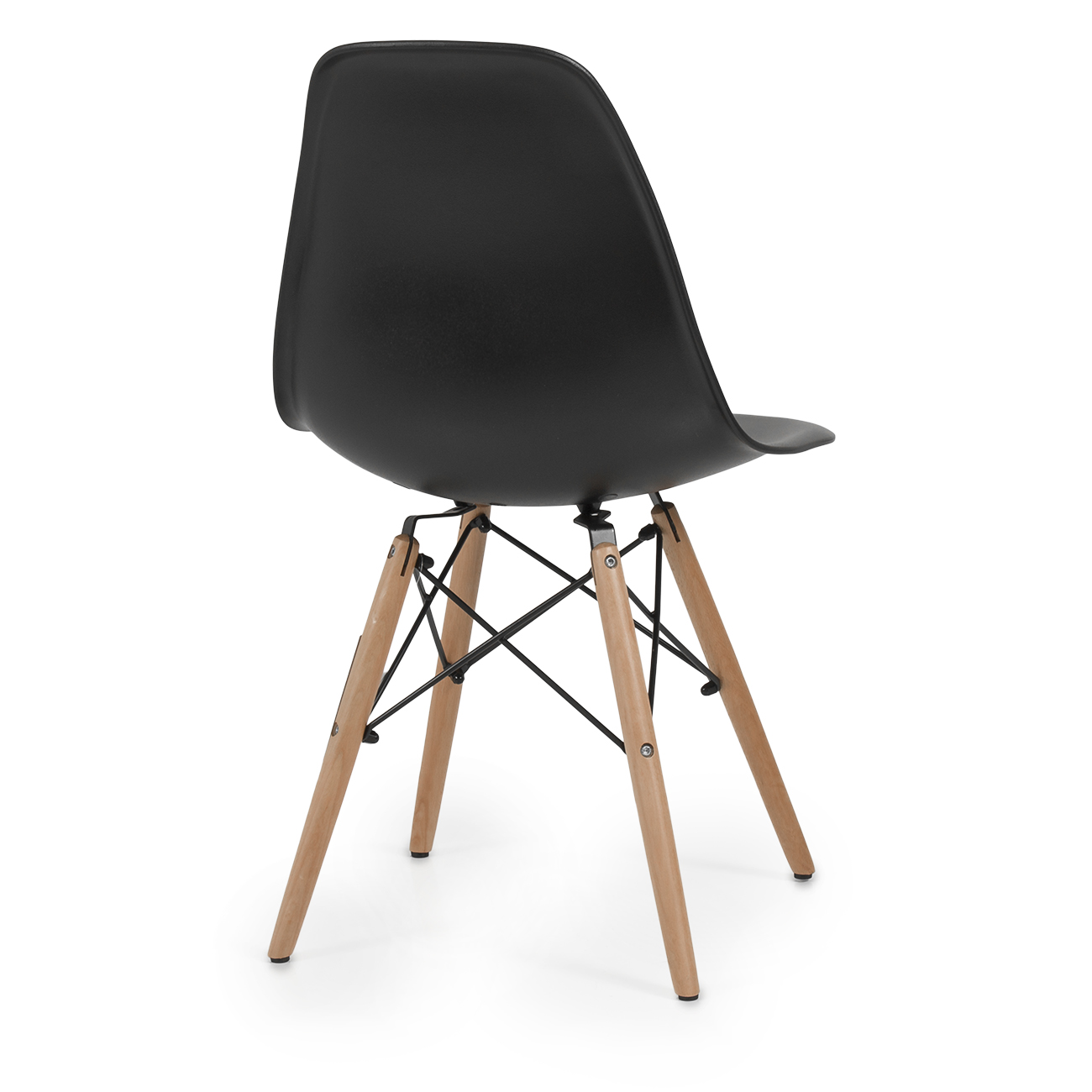 Eames premium molded abs eiffel dowel leg dsw style dining for Eames dowel leg side chair