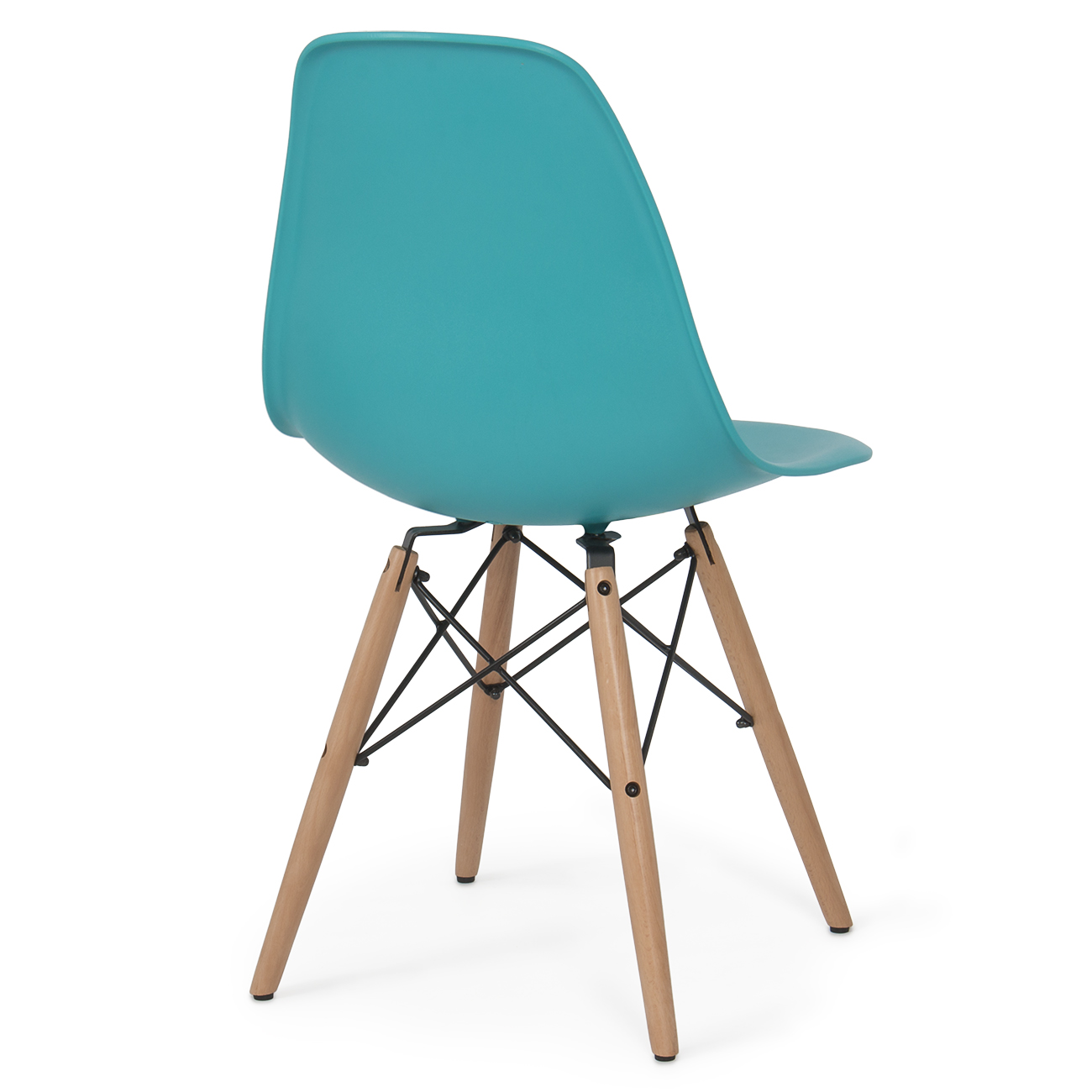 Eames premium molded abs eiffel dowel leg dsw style dining side set of 2 chair - Eames dsw eiffel chair ...