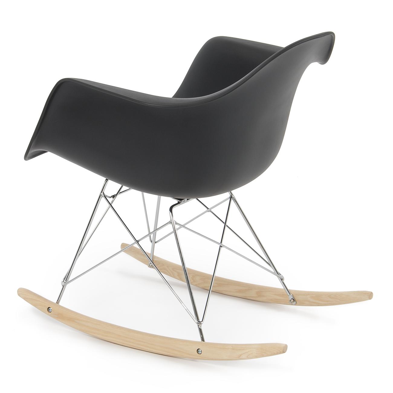 New eames rocker rocking indoor wood chair rar dsw style