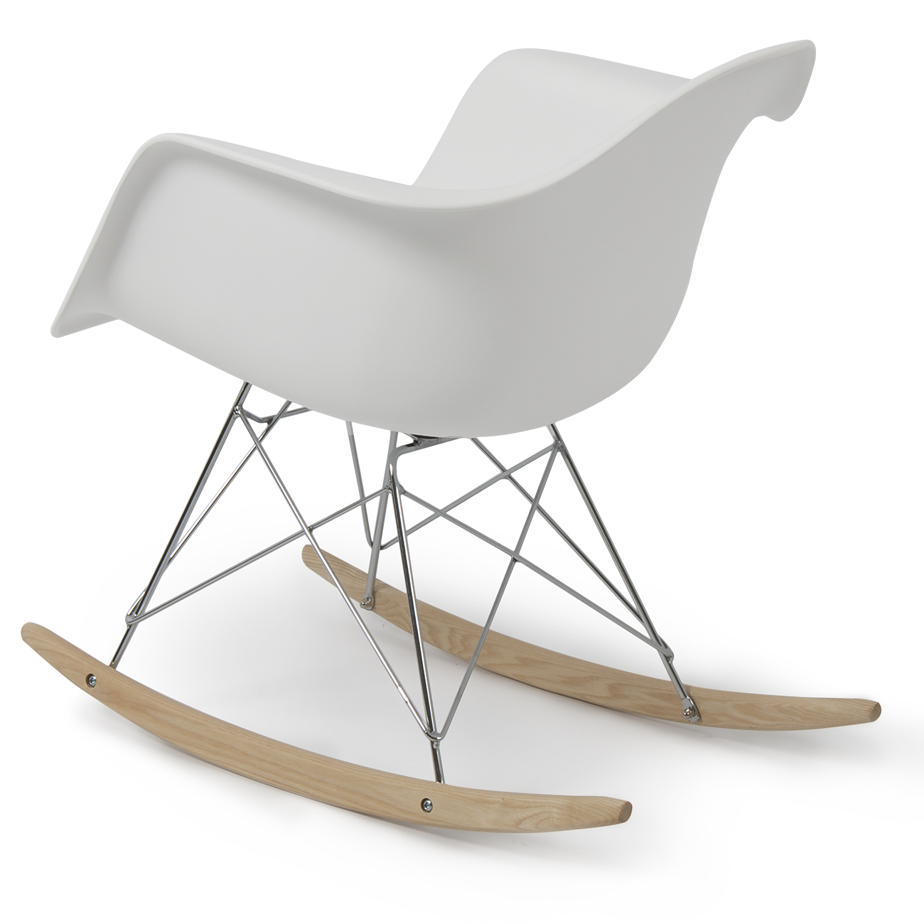 New eames rocker rocking indoor wood chair rar dsw style