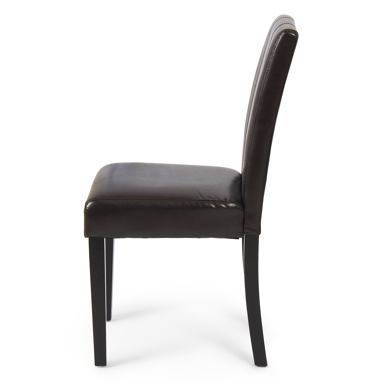 Leather parsons dining