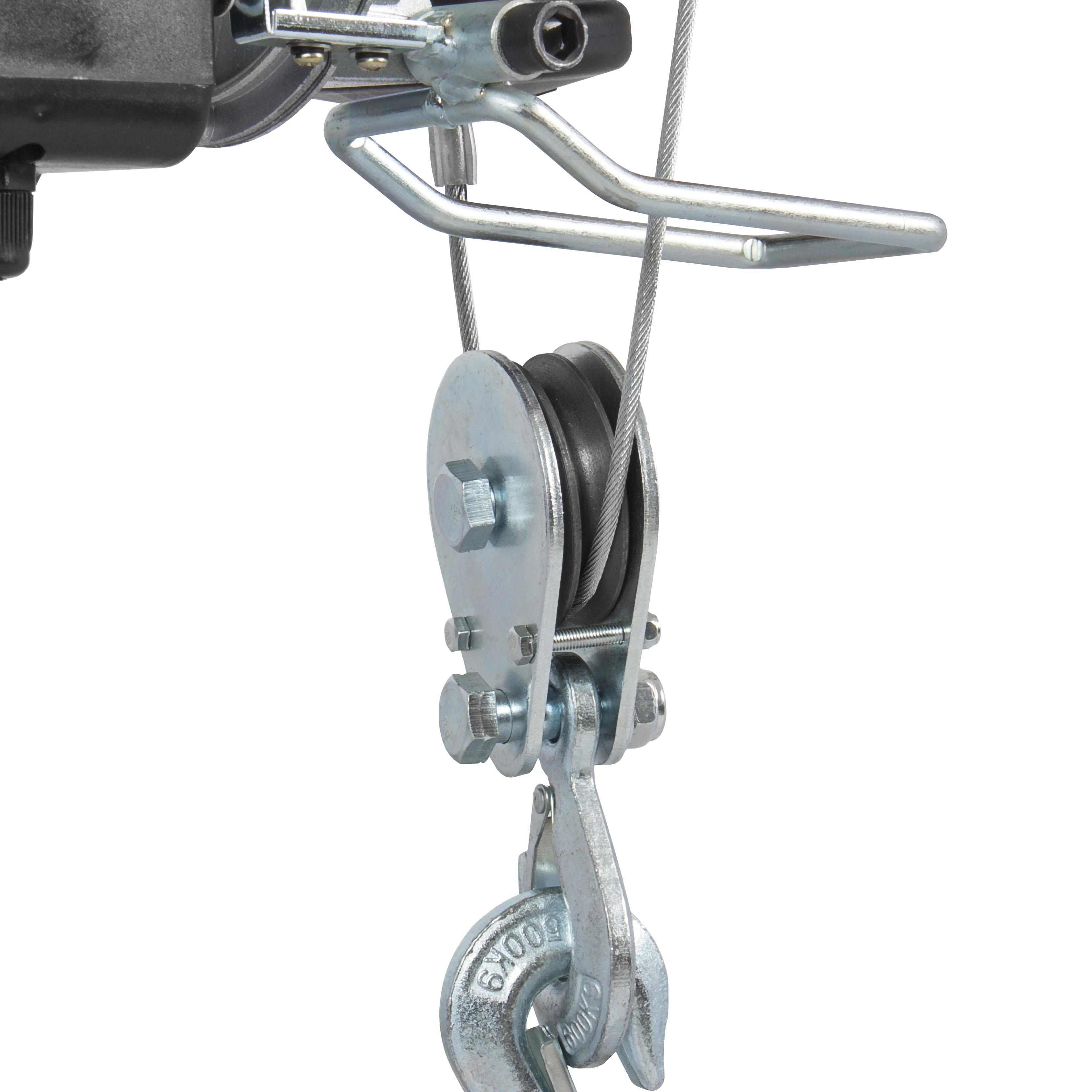 Overhead Crane Winch : Lb pro electric motor overhead winch hoist crane lift