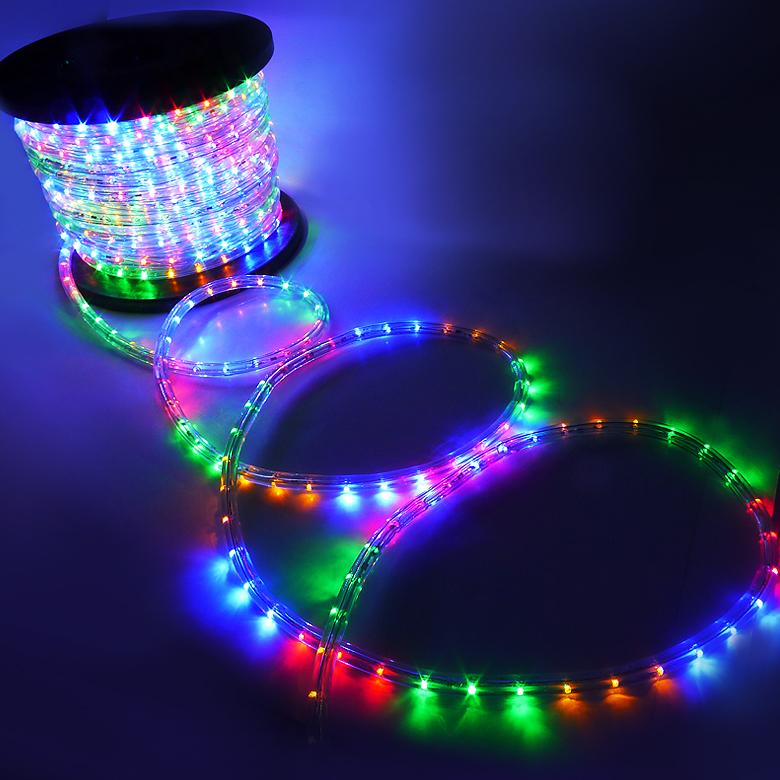 led rope red green blue light outdoor home 110v lighting 1 2 ebay