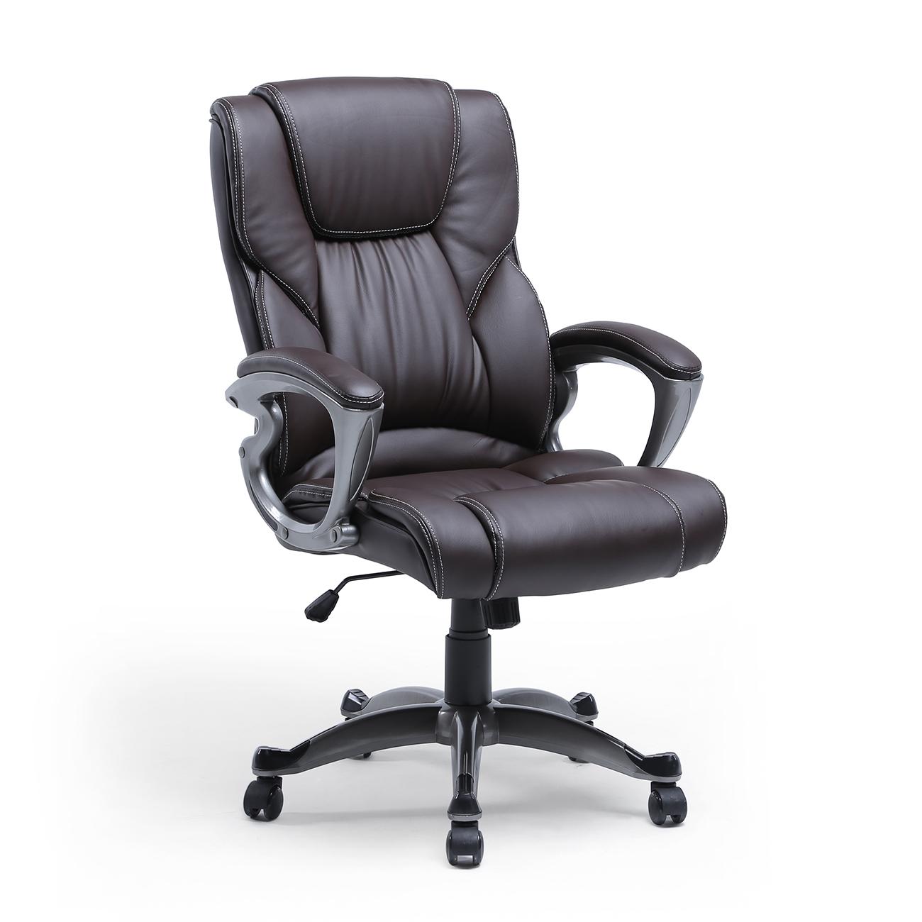 High Back Pu Leather Executive Ergonomic Office Chair Desk