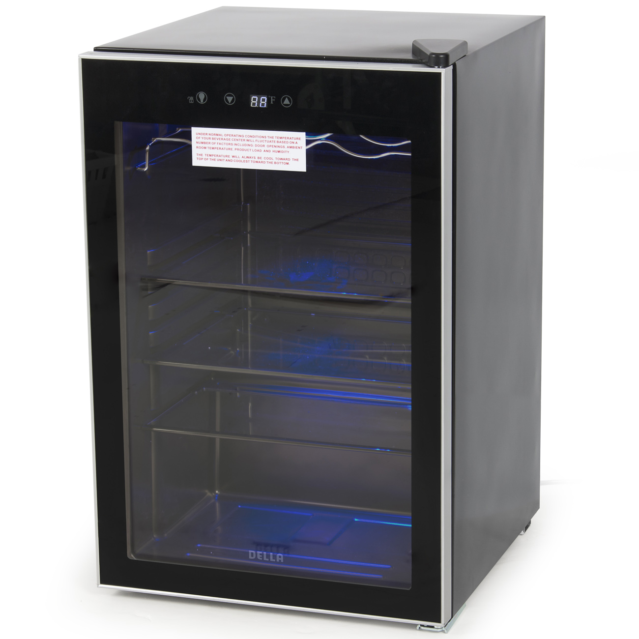 Beverage Digital Touch Led Wine Cooler Chiller Rack Mini
