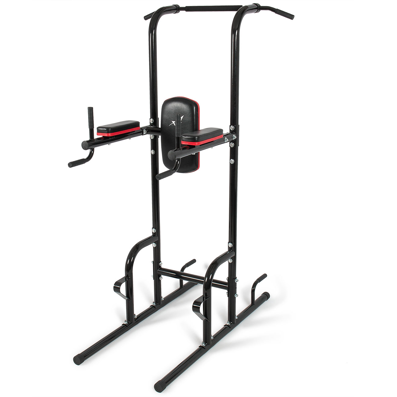 dip station power tower pull push chin up bar home gym. Black Bedroom Furniture Sets. Home Design Ideas