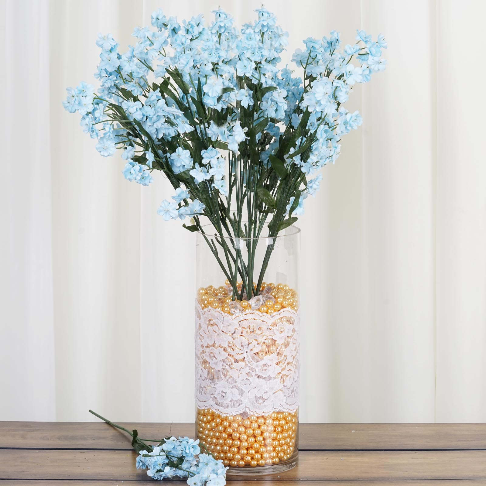 12 bushes baby breath silk filler flowers for wedding centerpieces 12 bushes baby breath silk filler flowers for izmirmasajfo