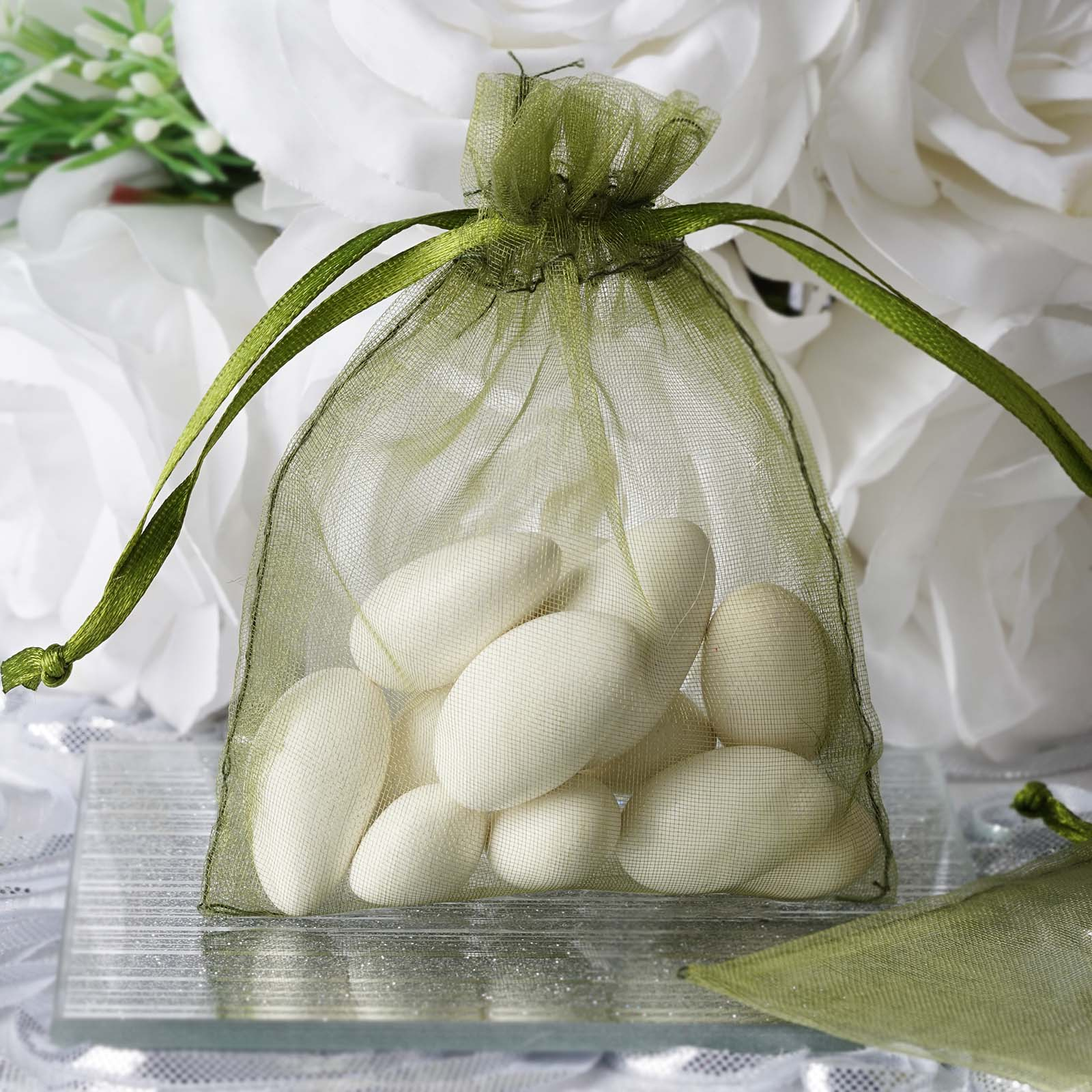 wedding favors wholesale pcs inch ORGANZA BAGS Wedding FAVORS