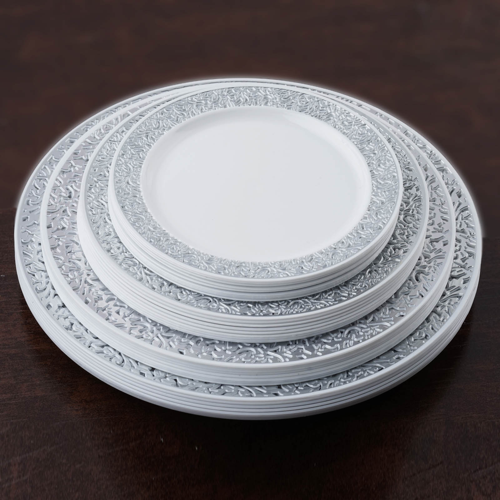 SALE. Quick View. Sale $ Was $66 appzdnatw.cf carries sets of plates with four, six, and eight plates included to meet the needs of any size family. Set a traditional dinner table with round or square plates, or opt for a unique look with plates in an unusual shape, such as a leaf. Plates made from durable melamine are an excellent.