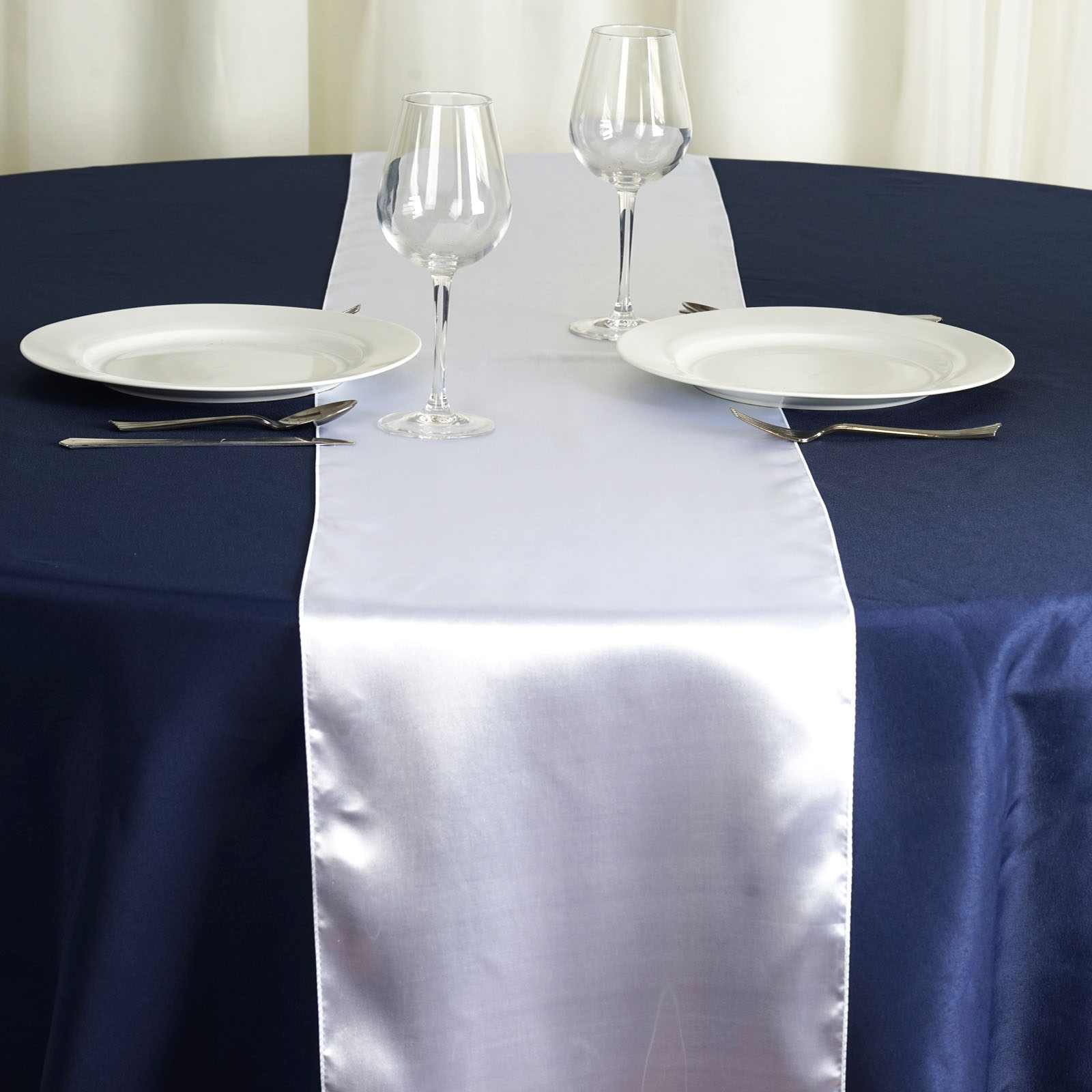 12 x 108 satin table runner wedding party dinner table for 108 table runner