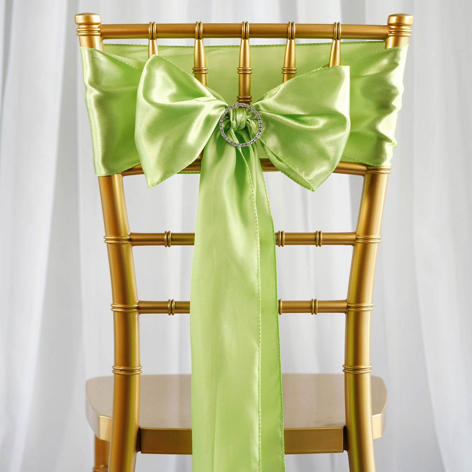 Satin CHAIR SASHES Bows Ties Wedding Reception Decorations