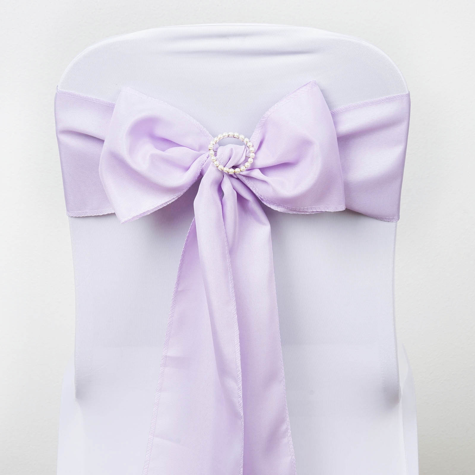 Polyester CHAIR SASHES Bows Ties Wedding Reception