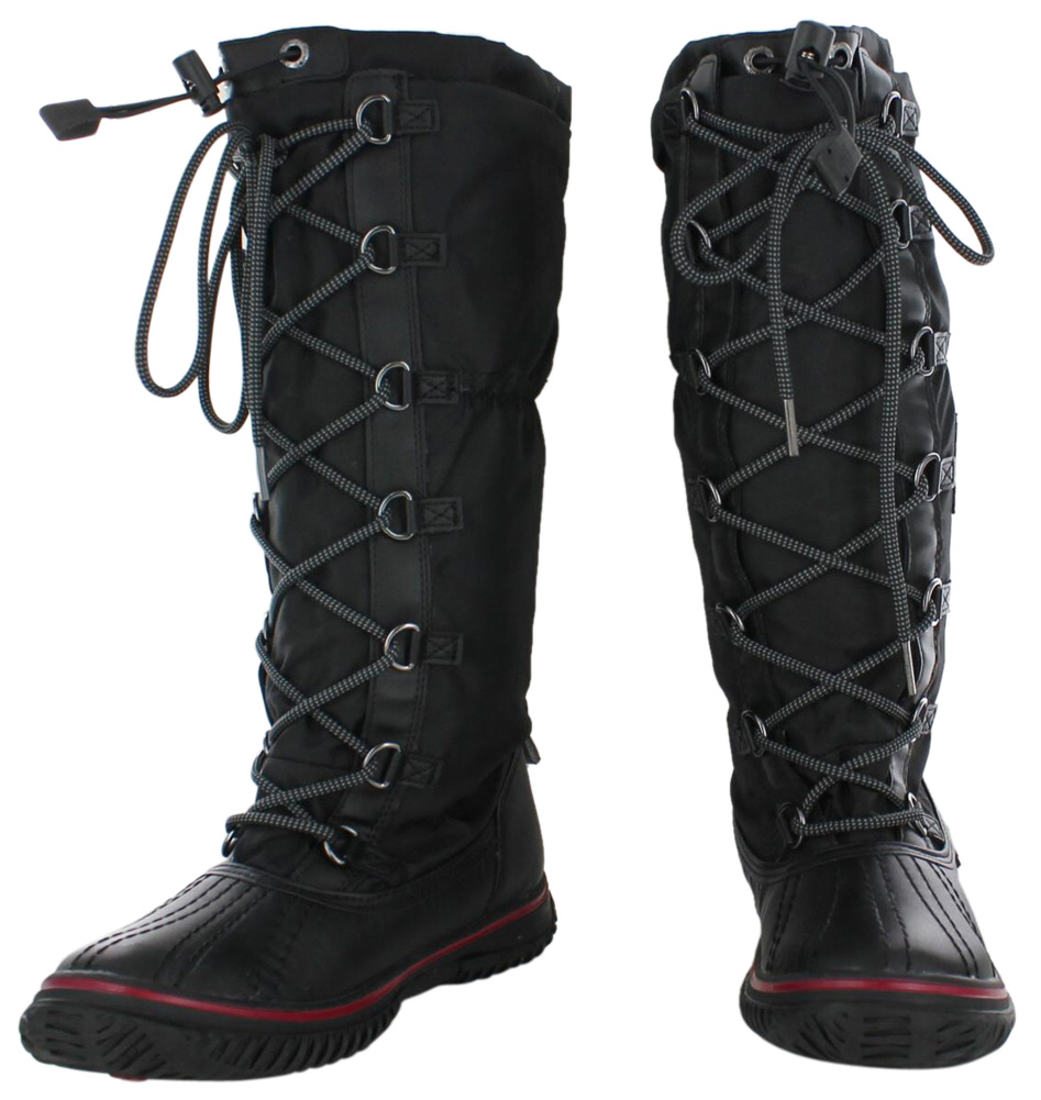 Pajar Grip BOOTS Women's Winter Lace up Tall Boot I Many Colors 36 ...