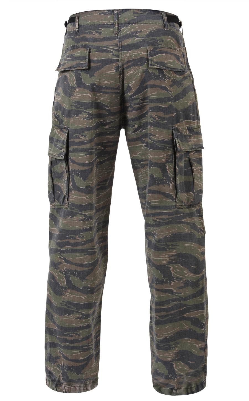 vietnam era tiger stripe camo us army pants fatigues ebay