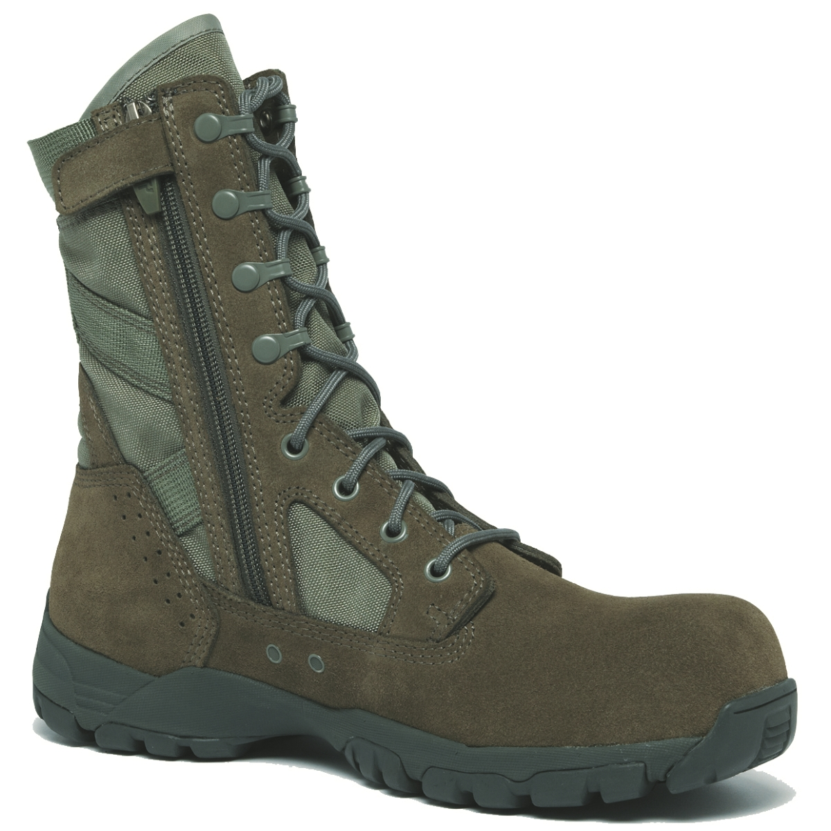 Tactical Research Belleville 696 Sage Green Lightweight Side Zip Composite Toe Garrison Boot at Sears.com