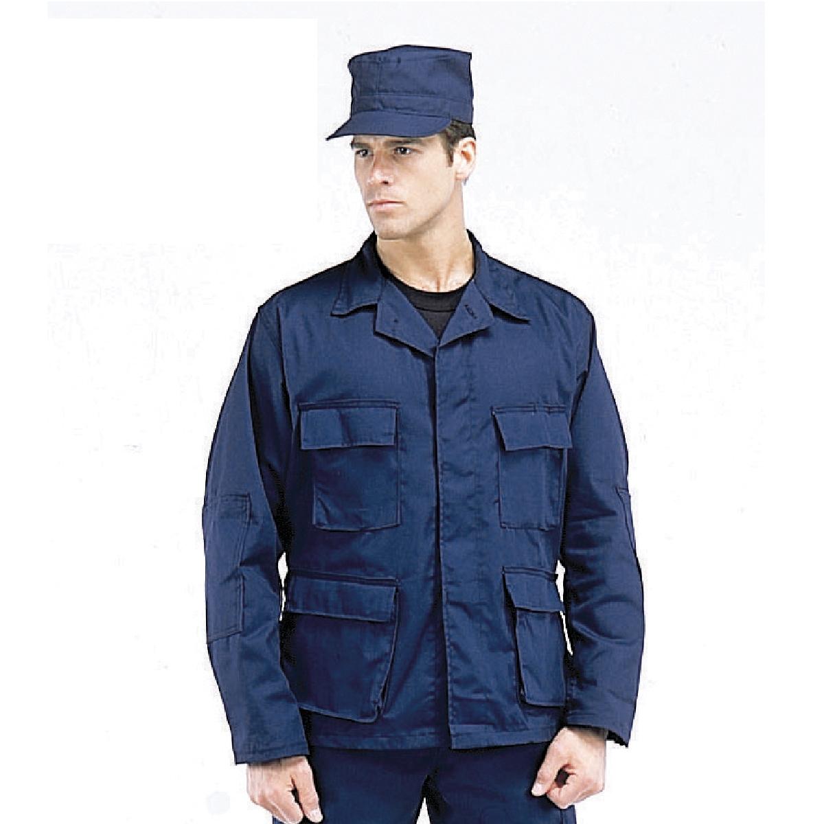 Rothco Midnight Blue BDU Shirts, Military Uniform Shirts