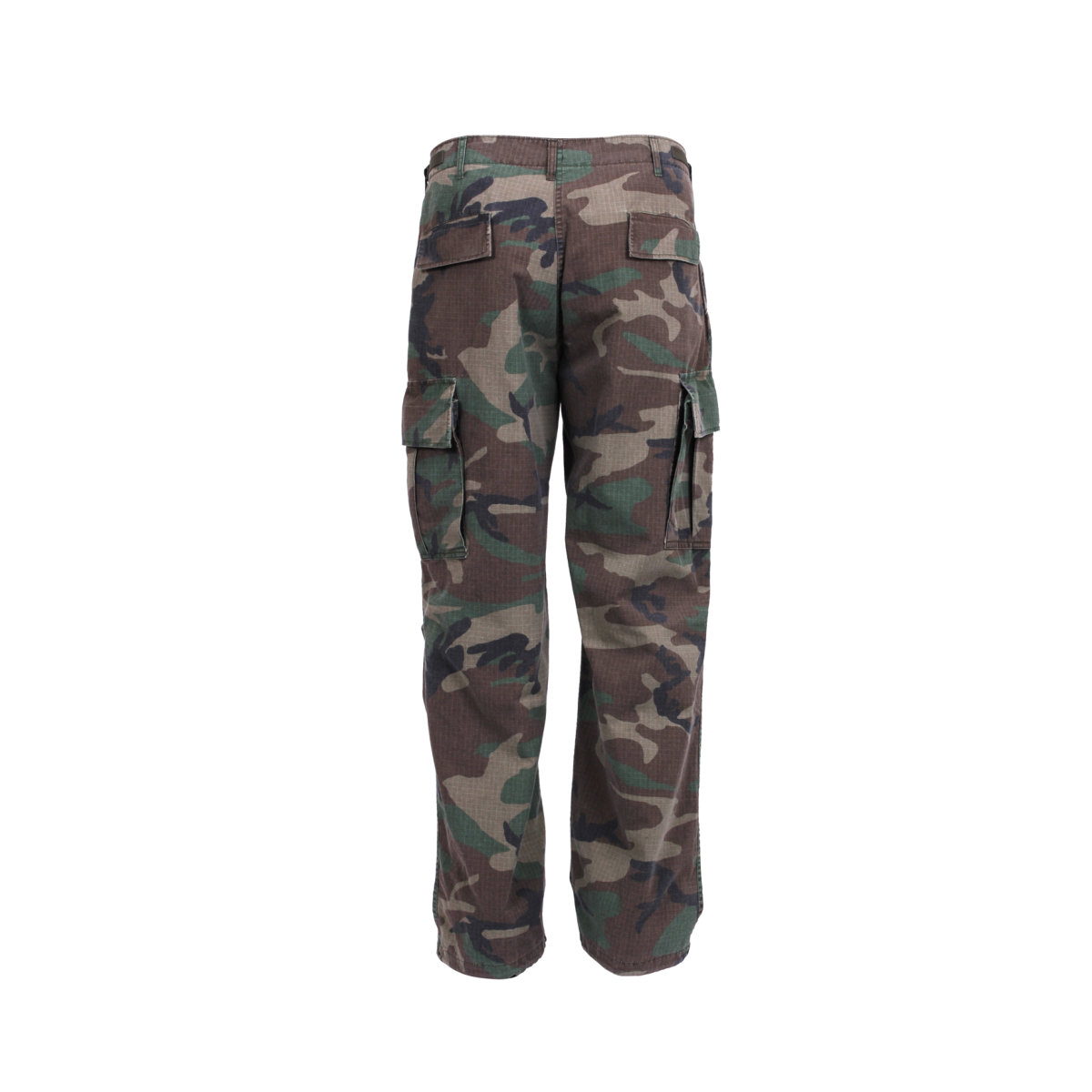 vietnam era camouflage army pants fatigues woodland camo
