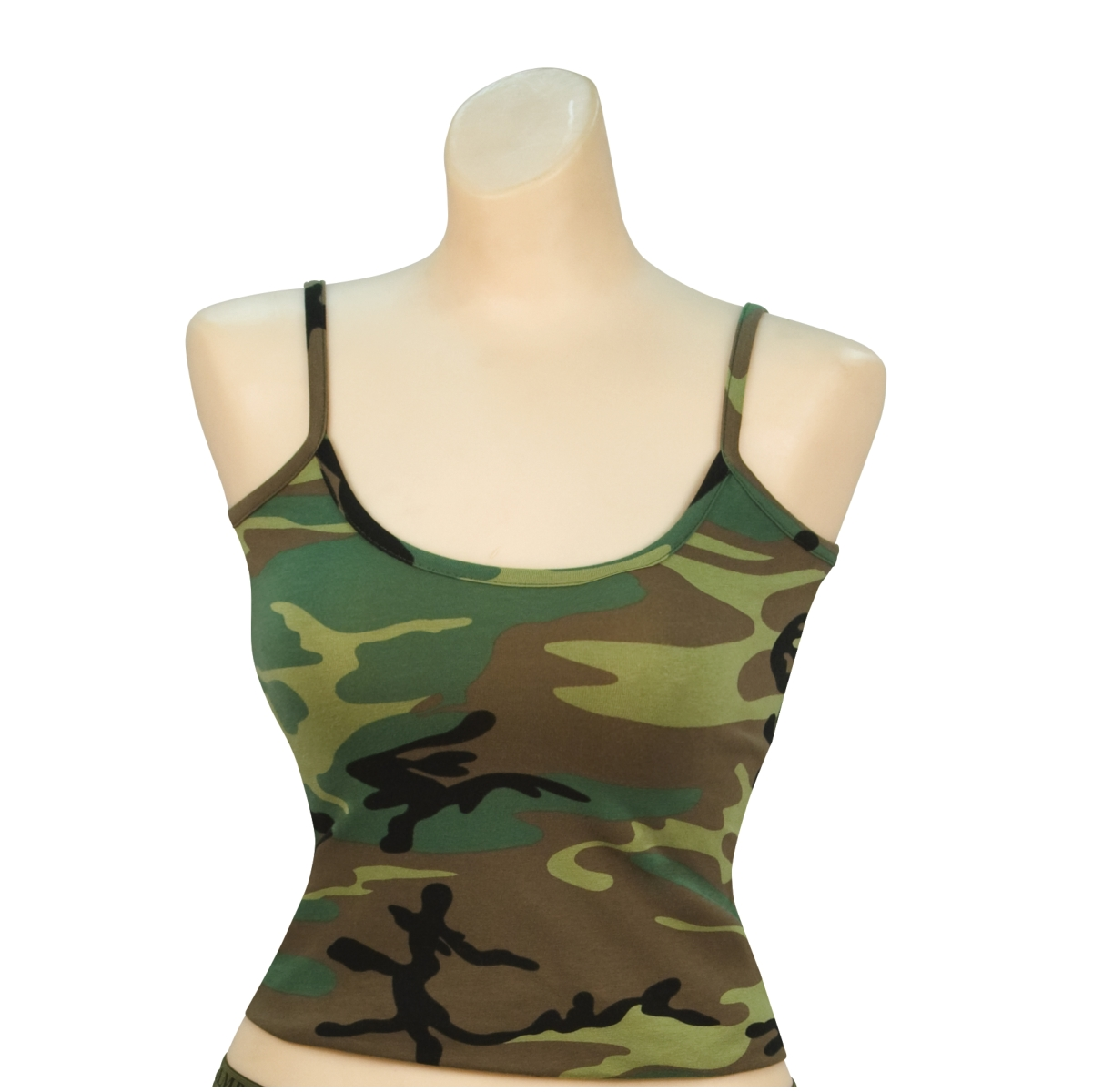 Rothco Women's Woodland Camo Casual Tank Top, Camisole