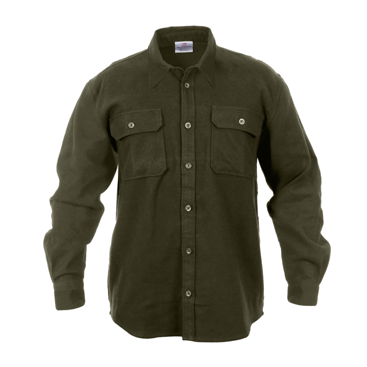 extra heavyweight brawny flannel shirt solid colors ebay