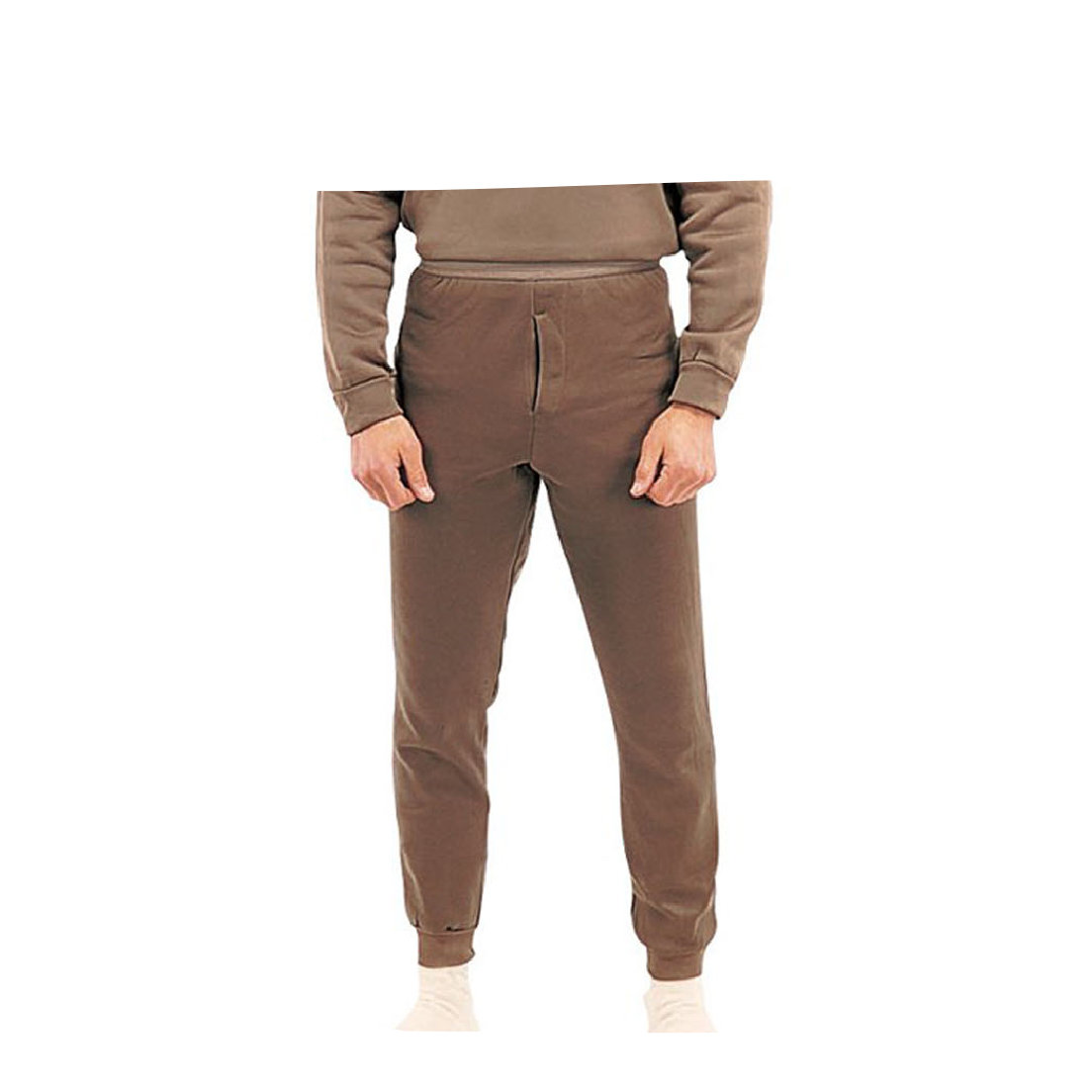 ColdPruf Pants: 95 Men's Gray Merino Wool Blend Thermal Underwear Pants. How many pairs of those thermal long johns do you own? You know, the ones that come in plastic bags so you can't see how flimsy they are until after you've bought them? ColdPruf 95 Men's Platinum Pants aren't sold in a plastic bag, and they won't wear out after the first.