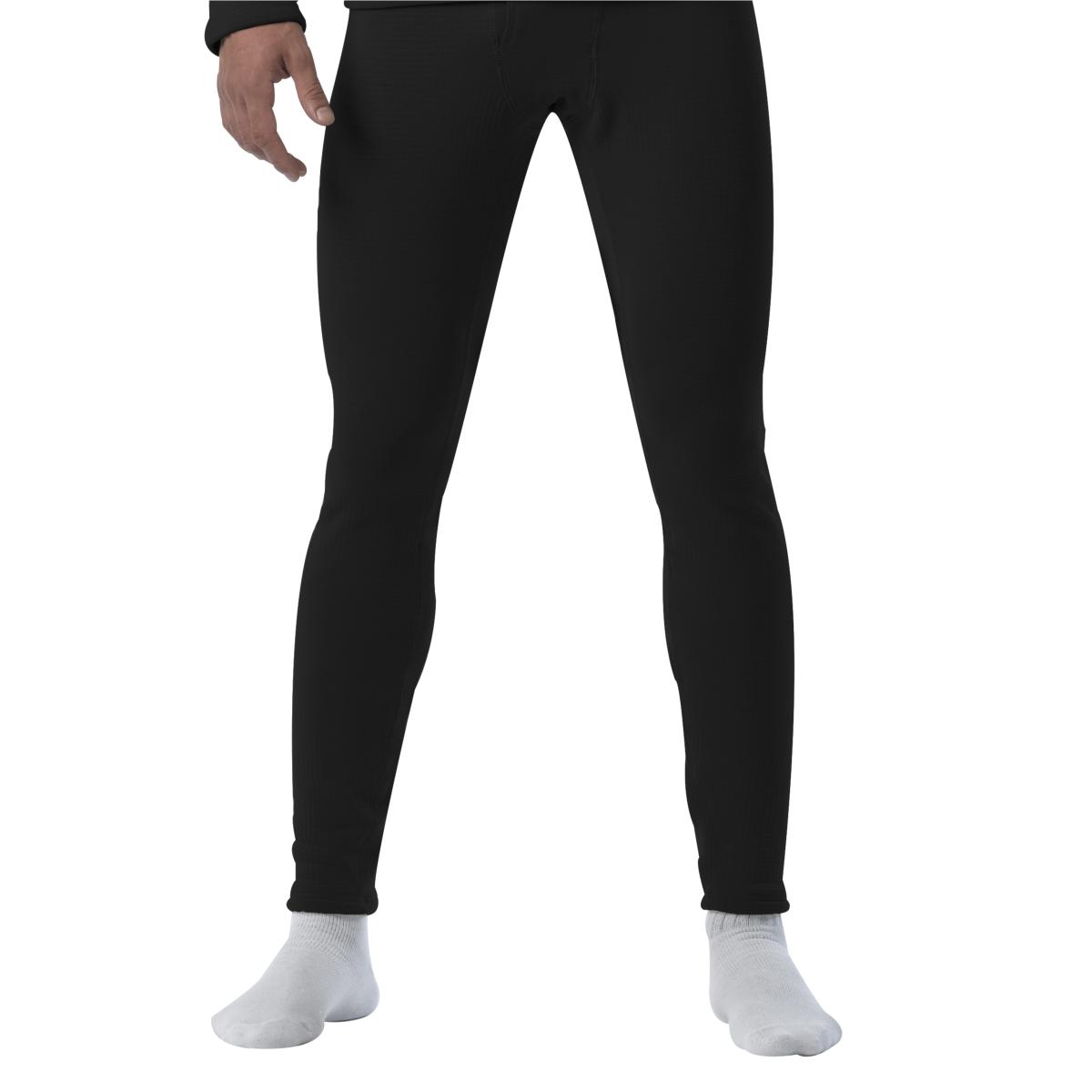 Rothco Gen III ECWCS Level II Thermal Underwear Pants, Black