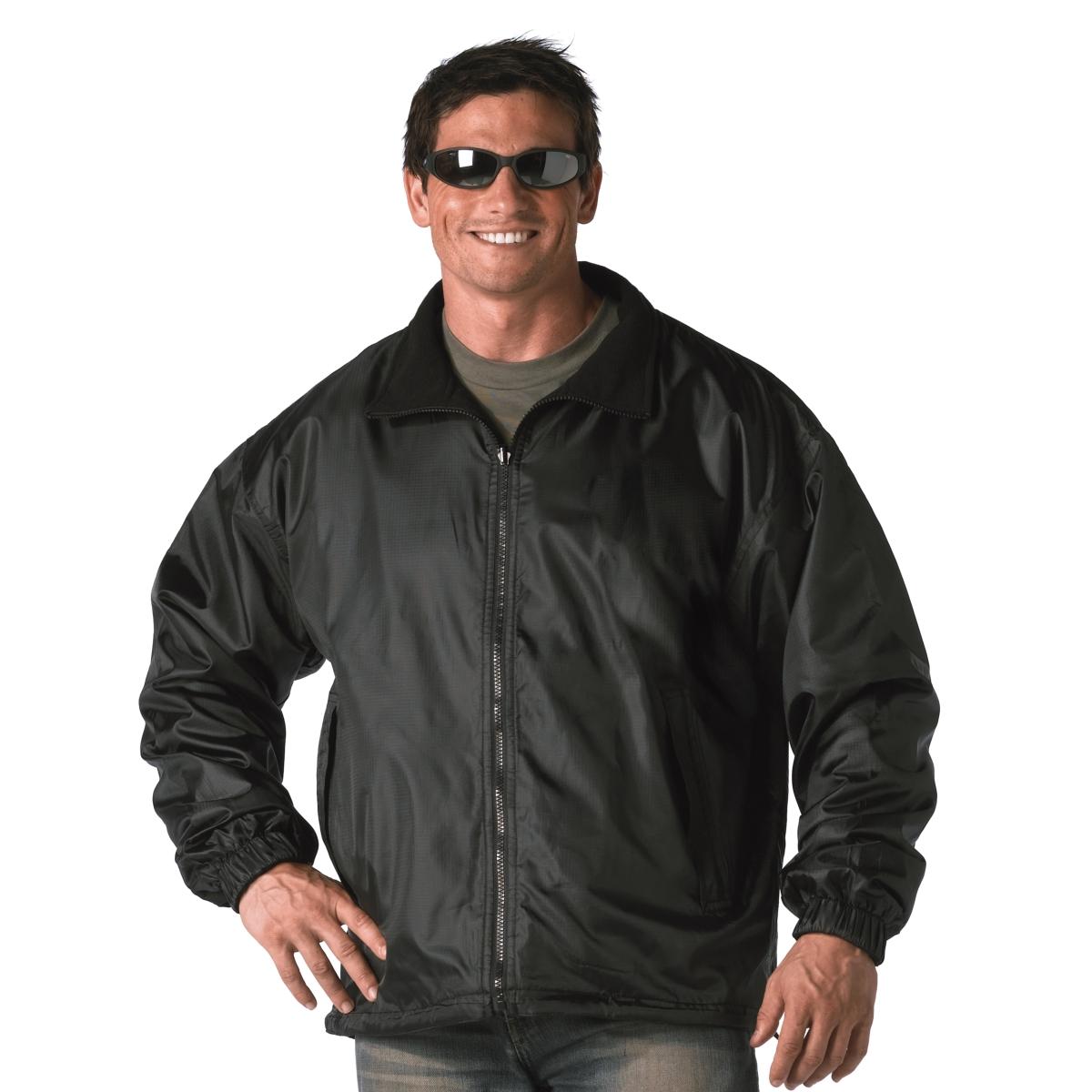 Rothco Mens Black Reversible Jacket, Fleece Windbreaker, Coat at Sears.com