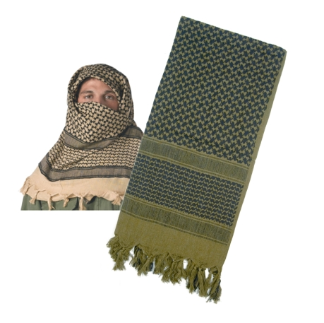 Rothco  Light Weight Shemagh, Olive and Black at Sears.com