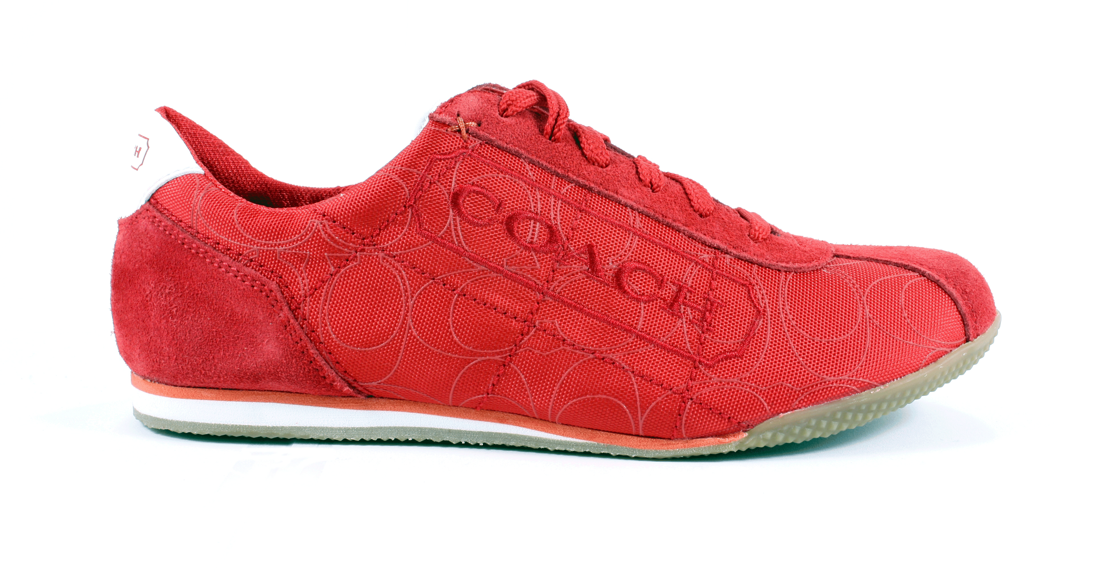 coach patti high frequency signature sneakers tennis