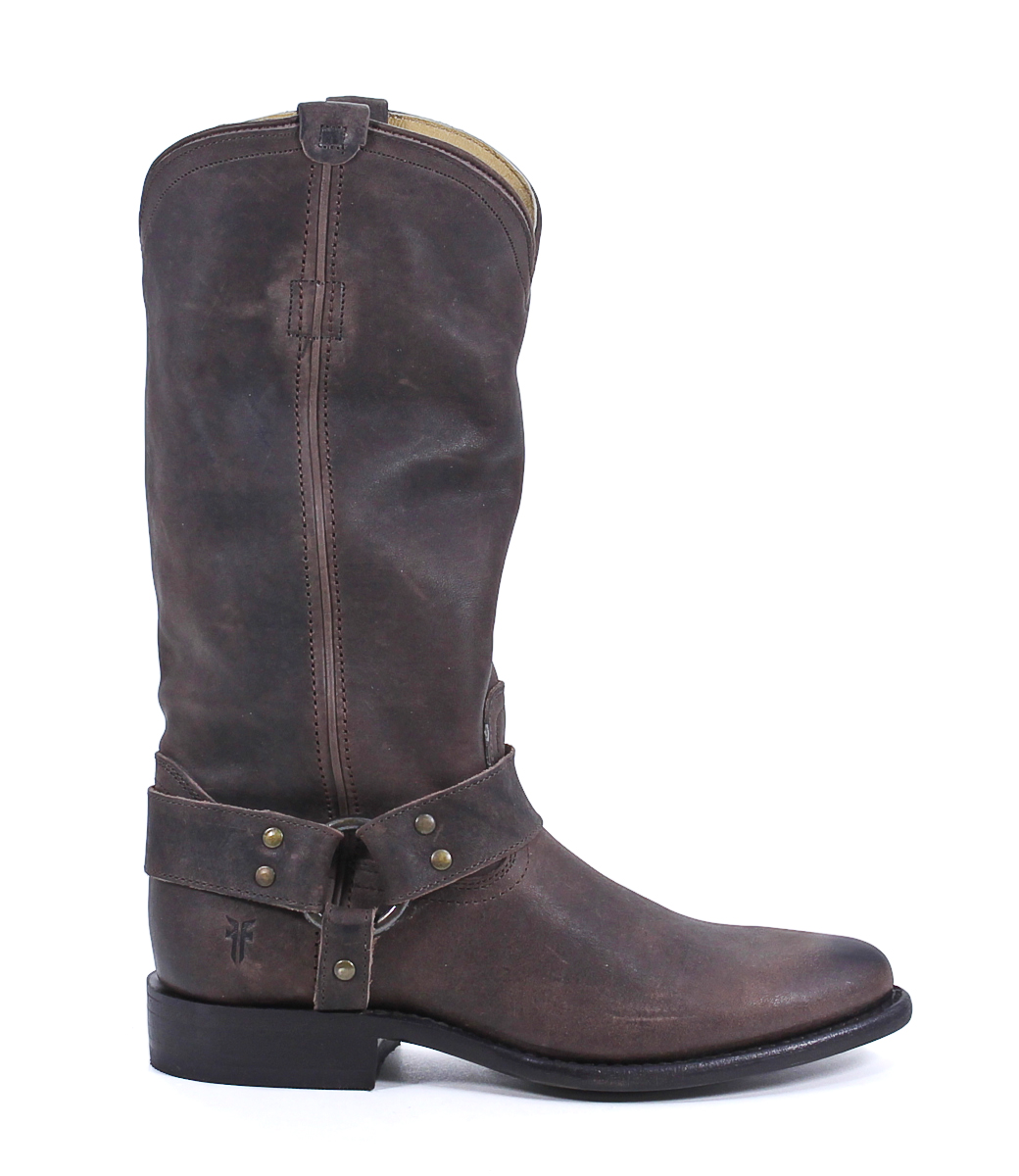 frye brown leather wyatt harness boots shoes 9 new ebay