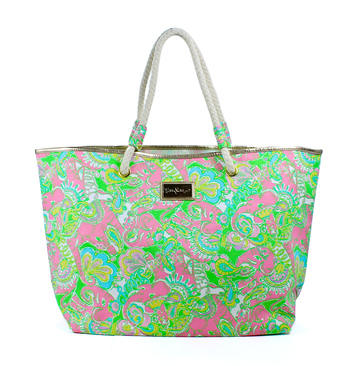 Lilly Pulitzer Multi Mini Chin Chin Shoreline Tote Bag